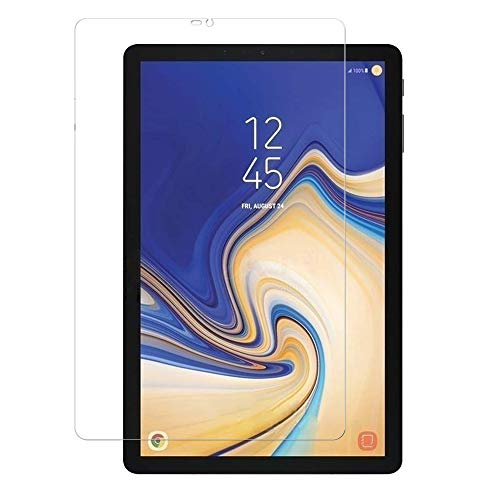 Screen Protector for Samsung Galaxy Tab S4 10.5 inch 2018 SM-T830 & SM-T835, Premium 9H Hardness 2.5D Round Edge Tempered Glass (Galaxy Tab S4 10.5 T830)