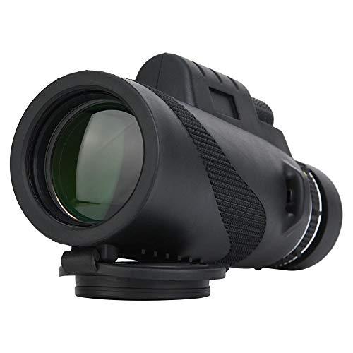 Bindpo Telelphone monoculare, 40X60 Telescopio HD Grandangolo Ultra grandangolare Impermeabile Visione Notturna Esterna Monoculare per Caccia Campeggio Escursionismo
