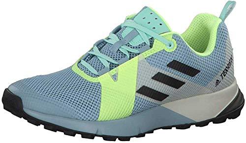Adidas Terrex Two W, Zapatillas de Deporte Mujer, Multicolor (Gricen/Negbás/Amalre 000), 37 1/3 EU