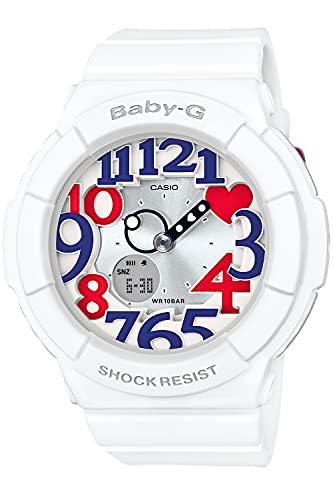[カシオ] 腕時計 ベビージー BABY-G White Tricolor Series BGA-130TR-7BJF ホワイト