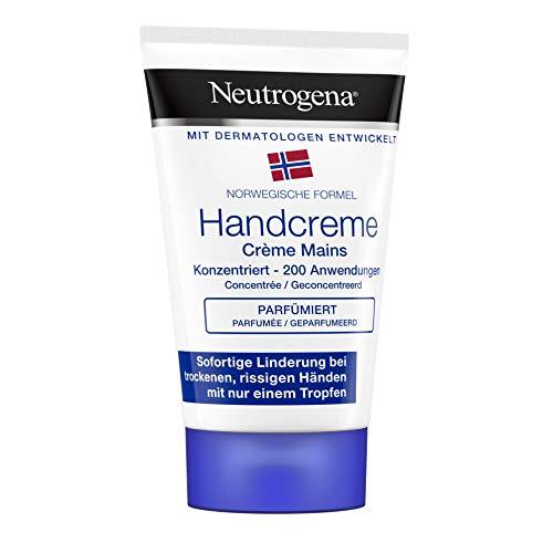 Neutrogena Crema de Manos Concentrada Con Perfume, Alivio Inmediato para Manos Secas, 50 ml