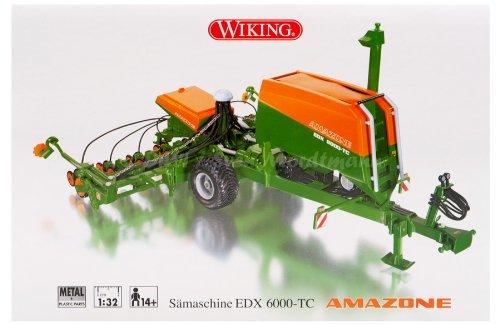 Wiking 077319 Amazone Sämaschine EDX 6000-TC 1:32