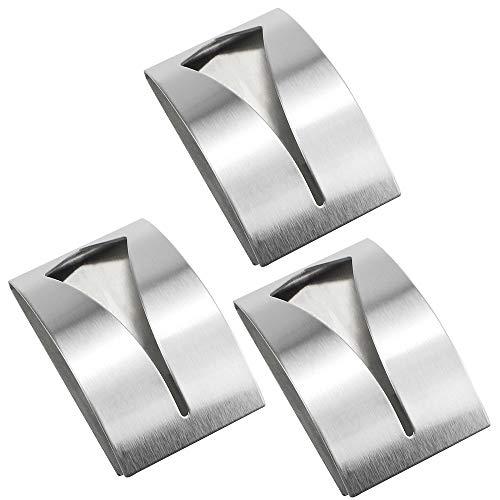 3 Ganchos Adhesivos Soporte de Pared Ganchos Adhesivos para Toallas Paños Se Utiliza en la Cocina el Baño la Toalla el Paño de Cocina Sin Necesidad de Perforar