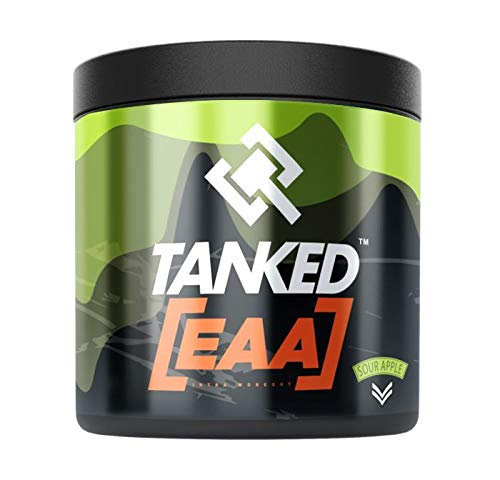 Tanked EAA - 30 Servings (Sour Apple)