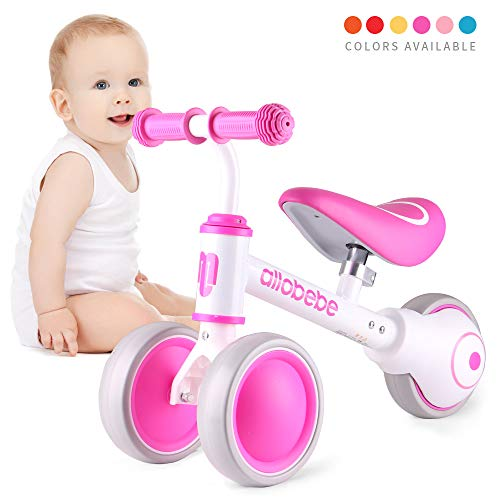 Purchase allobebe Baby Balance Bike, Cute Toddler Bikes 12-36 Months Gifts for 1 Year Old Girl Bike ...