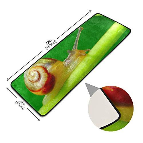 XiangHeFu antislip matten-vloermatten op groen blad tuinpool-vloerbedekking vloerkleed