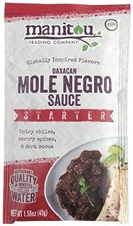 Oaxacan Mole Negro Sauce Starter, 8/1.58 Ounce Pouch Case