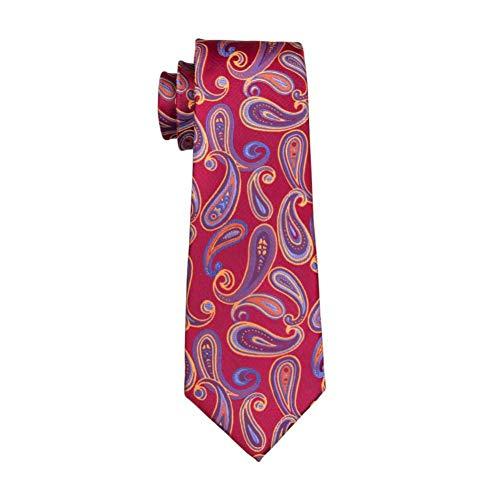 KYDCB Neue Ankunfts-Männer binden Art- und Weiseseidenjacquard gesponnene Gravata-Krawatte für Mann-Geschäfts-Hochzeitsfest