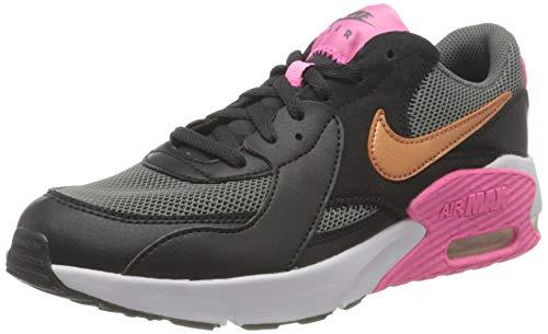 Nike Air Max Excee (GS), Sneaker, Off Black / Metallic Copper-Smoke, 36,5 EU