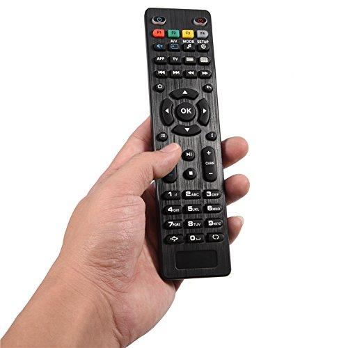 Zyyini Telecomando TV Box per Mag 250 254 255 260 261 270 IPTV TV Box di Ricambio, Distanza Fino a 10 m 33 Piedi, Risparmio energetico e Durevole