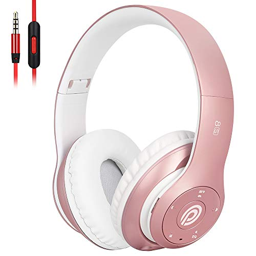 Bluetooth Headphones Over Ear, Wireless Headphones, 6EQ Modes, Foldable...