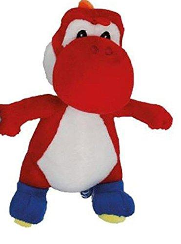 Super Mario Bros Yoshi Rot 22 cm , Plüschtier ,Plüsch, Plushfigur , Stofftier