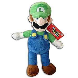 Nintendo Super Mario 9801 - Peluche de Luigi (24 cm): Amazon ...