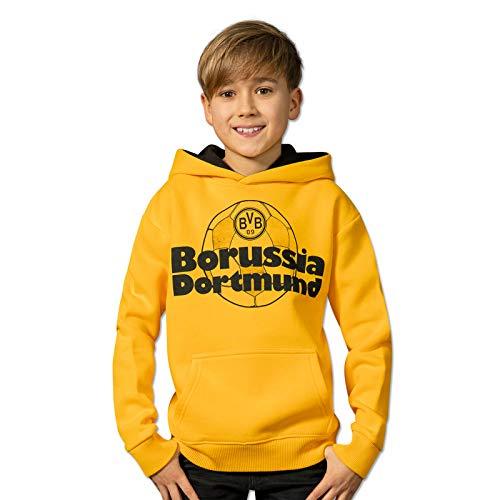 Borussia Dortmund BVB-Hoodie Retrospektiv für Kinder gelb 140