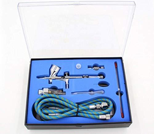 Hycy Dual Action Airbrush Paint Air Brush Pistola De Pulverización Kit De Pluma Pulverizadora 0.2/0.3/0.5Mm para La Pintura del Cuerpo De La Aguja Nail Art Tattoo Cake Toy