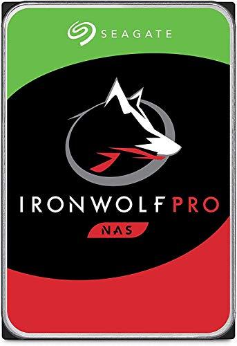 """Seagate IronWolf Pro, 6 TB, NAS, Disco duro interno, HDD, CMR 3,5"""" SATA 6 GB/s, caché 256 MB, almacenamiento RAID, 3 años de servicios Rescue (ST6000NE000) (Reacondicionado)"""