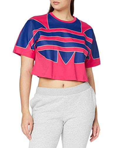 adidas BIG TRF Tee T-Shirt, Power Pink, 48 Femme