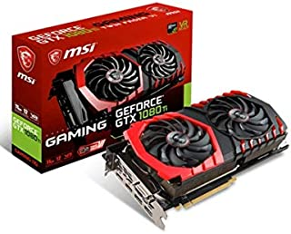 MSI GeForce GTX 1080 Ti Gaming 11G GeForce GTX 1080 Ti 11GB GDDR5X - Tarjeta gráfica (GeForce GTX 1080 Ti, 11 GB, GDDR5X, 352 bit, 11016 MHz, PCI Express x16 3.0)