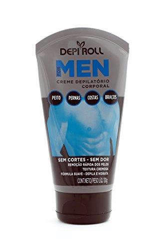 Creme Depilatório Corporal For Men 130 g, Depiroll