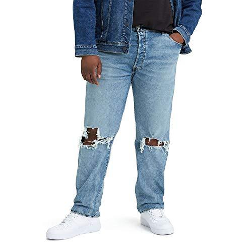 Levi's 501 Original Fit Jeans, Luz Izquierda Derecha, 48W x 34L para...