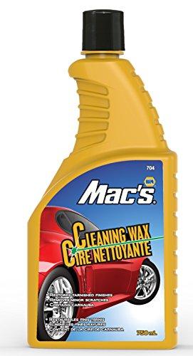 Auto-Chem Direct NAPA Mac's Premium (704) One-Step Liquid Cleaning Wax with Carnauba 25.36 Ounces