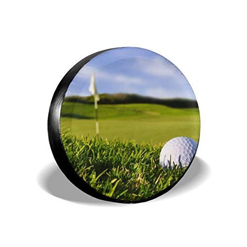 Hokdny Funda Universal para llanta de Repuesto Golf Goal