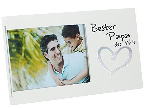 Bada Bing Bilderrahmen Bester Papa der Welt Herz Fotorahmen Lieblingsmensch 93