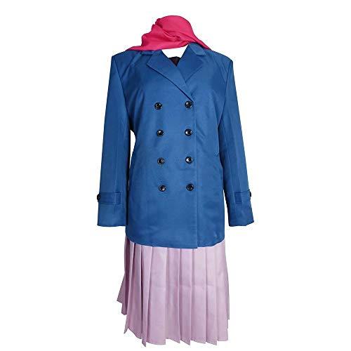 Noragami Bishamonten Cosplay Kostüm Iki Hiyori, Yukine, Bishamon, WhAnime Cosplay Uniform mit Hut Anime Bishamonten Halb-Ayakashi Iki Hiyori Iki Cosplay Kostüm Halloween High School Uniform Outfit
