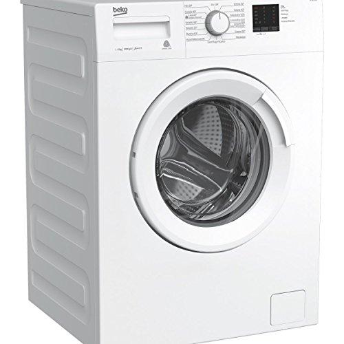 Beko WTX61031W Libera installazione Carica frontale 6kg 1000Giri/min A+++ Bianco lavatrice, Senza installazione