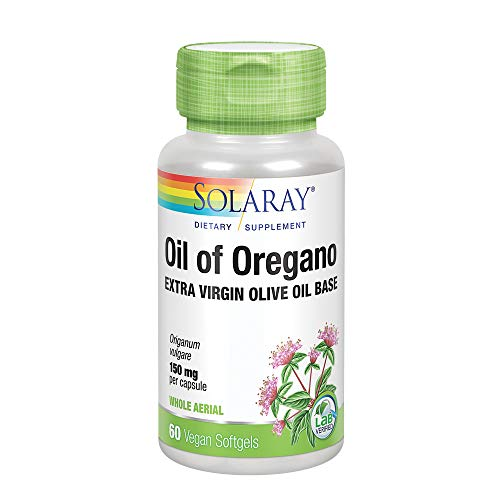 Solaray Oil of Oregano 150mg | Aceite de orégano | 60 Perlas