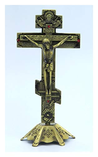 chenyou Permanente crucifijo de Metal 7 Pulgadas Cruz Mujer niña para (Color : 7 Inches)