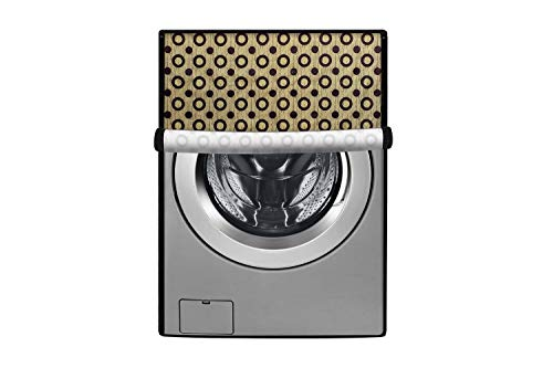 Stylista Washing Machine Cover Compatible for LG 6 kg Inverter Front Load FH0FANDNL02 Waterproof & Dustproof