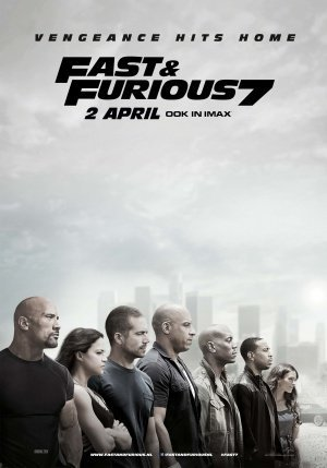Photo posters Fast and The Furious 7 Movie Limited Print Size 27x40#2 Paul Walker Vin Diesel The Rock Ronda Rousey