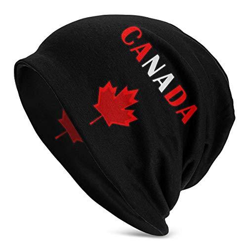 shenguang Canada Leaf Frauen Männer Einfarbige Mütze - Stretchy & Soft Winter Cap...