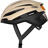 ABUS TrailPaver Mountainbike Helm, Unisex Adulto, Negro(Beige Black), S...