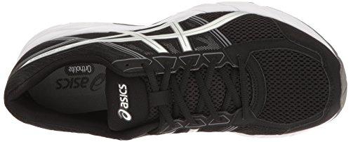 ASICS, Chaussures de Course pour Homme Thunder Blue/White/Black - Noir - Black/Silver/Carbon, 43 EU