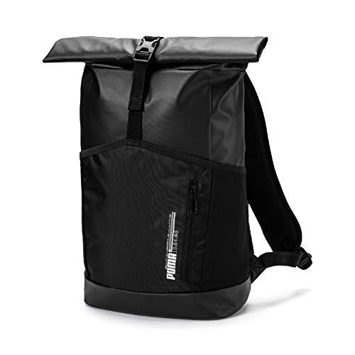 PUMA Energy rolltop Backpack Rucksack, Black, OSFA