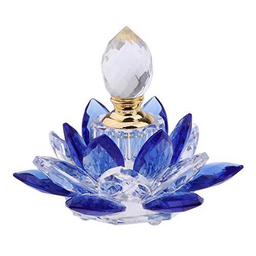 Sharplace Perfume Portátil Vacío de Las Botellas de Vidrio Transparente de 5ml para Los Regalos de Las Muchachas de Las Mujeres