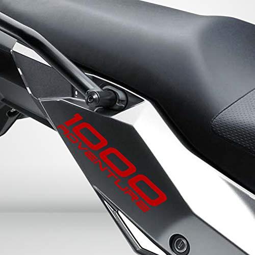 Rojo Brillante Motocicleta Superbike Pegatinas Calcomanías Pack Impermeable Suzuki V-Strom 1000 Adventure