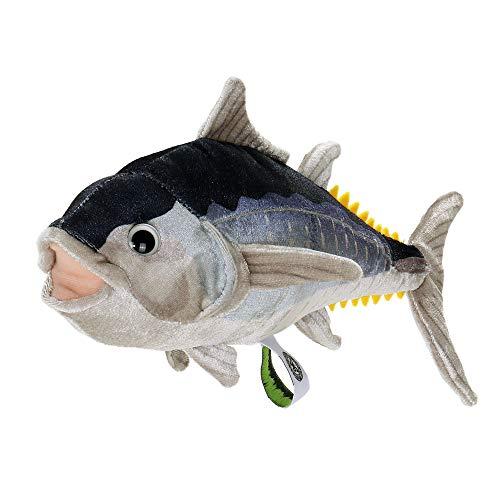 カロラータ クロマグロ ぬいぐるみ (検針2度済み) おもちゃ 人形 / やさしい手触り 赤ちゃん 子供 / マグロ 魚 幼魚 ( ギフト / プレゼント )