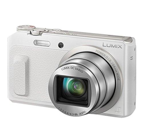 Panasonic Lumix DMC-TZ57 Appareils Photo Numériques 17.5 Mpix Zoom Optique 20 x Blanc