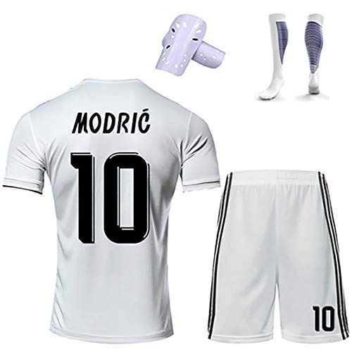 FYDT Fußball Trikot 18-19 Saison Bale Hazard Modric Jungen Fußballuniform Fußball Trainingslager Uniform 99% Polyester atmungsaktiv schnell trocknend-11#-140