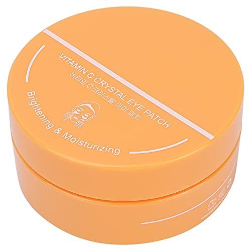 60Pcs Premium Maschera per Occhiaie, Maschere per gli Occhi Antietà Effetto Idratante e Antirughe, Maschera per gli Occhi Illuminante Maschere per gli Occhi Idratanti Alla Vitamina C