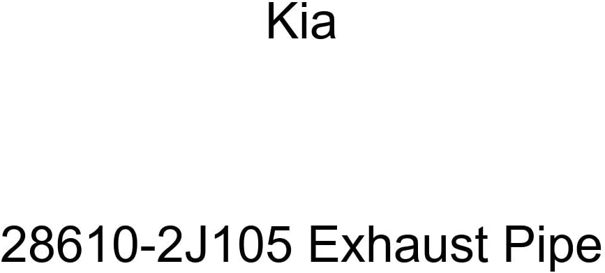 Kia 28610-2J105 Exhaust Quality inspection At the price of surprise Pipe