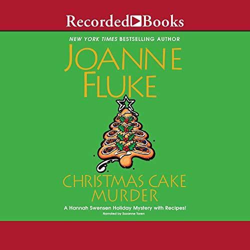 Christmas Cake Murder cover art