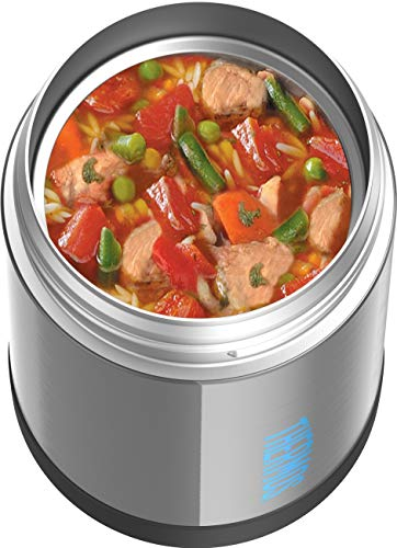 Thermos Funtainer 16 Ounce Food Jar, Charcoal