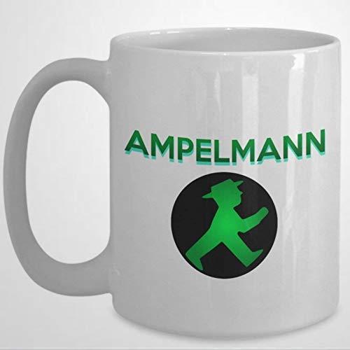 Ampelmann Tasse Kaffeetasse 313 ml Keramik Kaffee oder Tee Tasse Festival