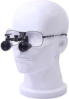 外科手術用ルーペメガネ拡大鏡ヘッドは、光読取ヘッドバンドプロ拡大鏡スピーカー宝石クラフトルーペ3.5倍のLEDマウント