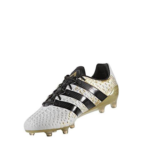 adidas Herren Ace 16.1 Fg Fussballschuh, Multicolore Ftwwht Cblack Goldmt, 40 2/3 EU