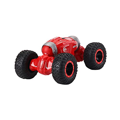 DEORBOB Climbing Stunt Control remoto Coche 4WD 1:16 Escala Doble cara Twisting RC Cars 2.4Ghz Juguete eléctrico para niños Deriva de alta velocidad Buggy Deformación Vehículo Regalo sorpresa de cumpl